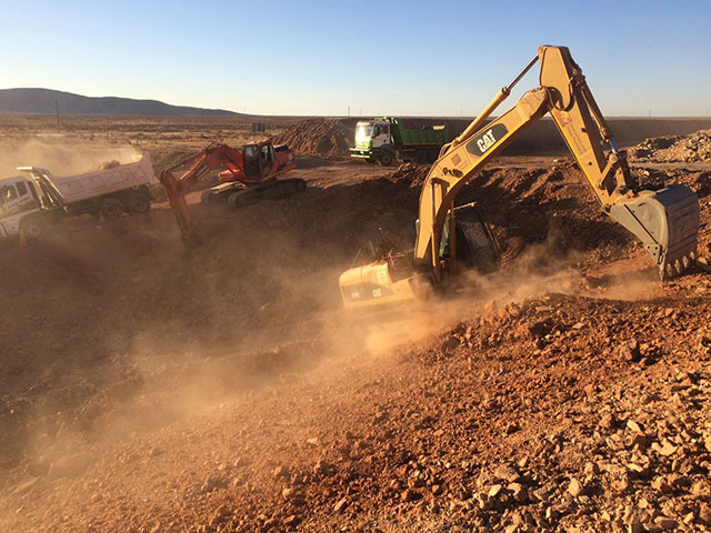 Bulk Earthworks | Hanekom Plant Hire & Civil Works in Upington