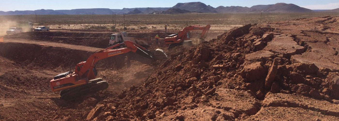 Bulk Earthworks | Hanekom Plant Hire & Civil Works