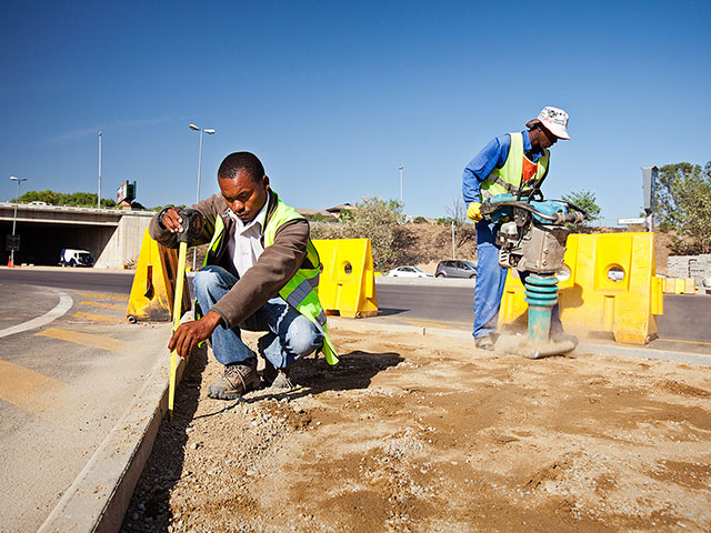 Paving works | Hanekom Plant Hire & Civil Works in Upington