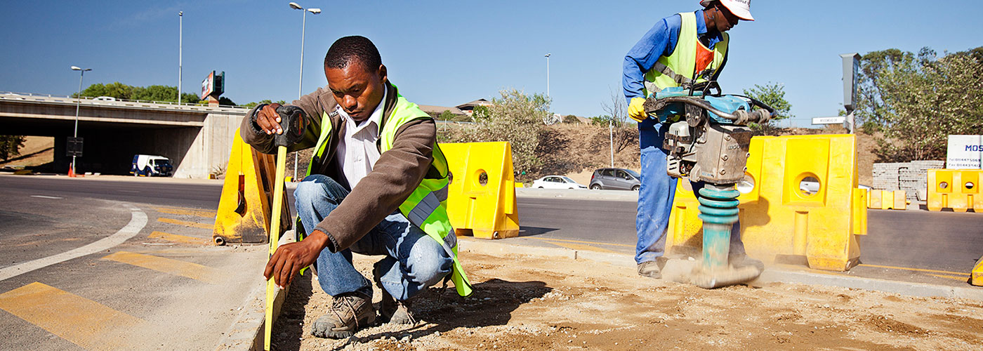 Paving works | Hanekom Plant Hire & Civil Works