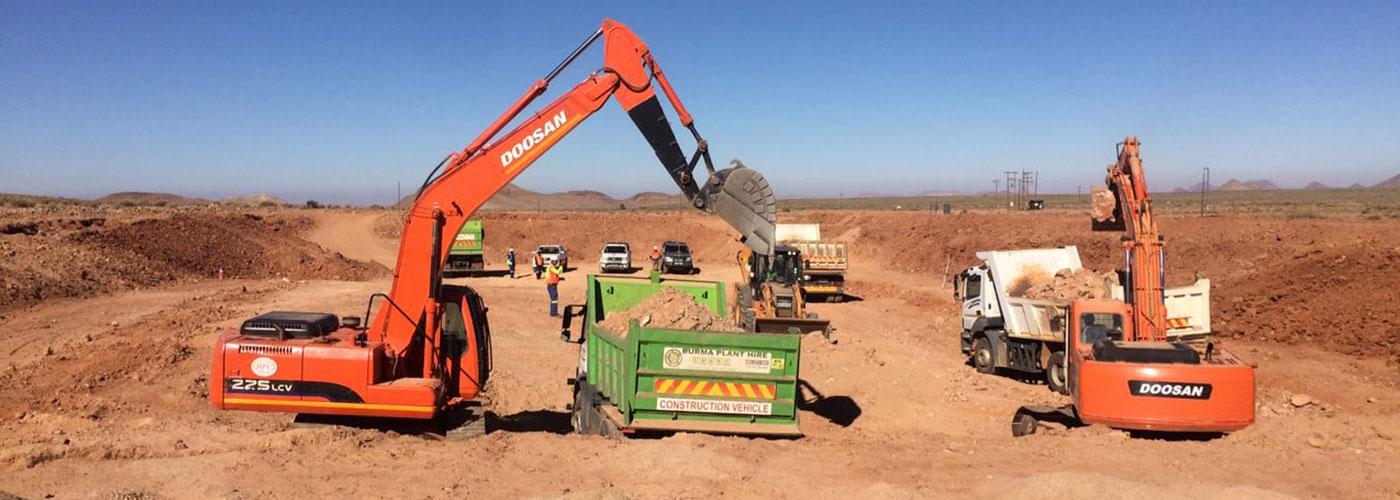 Roadworks | Hanekom Plant Hire & Civil Works